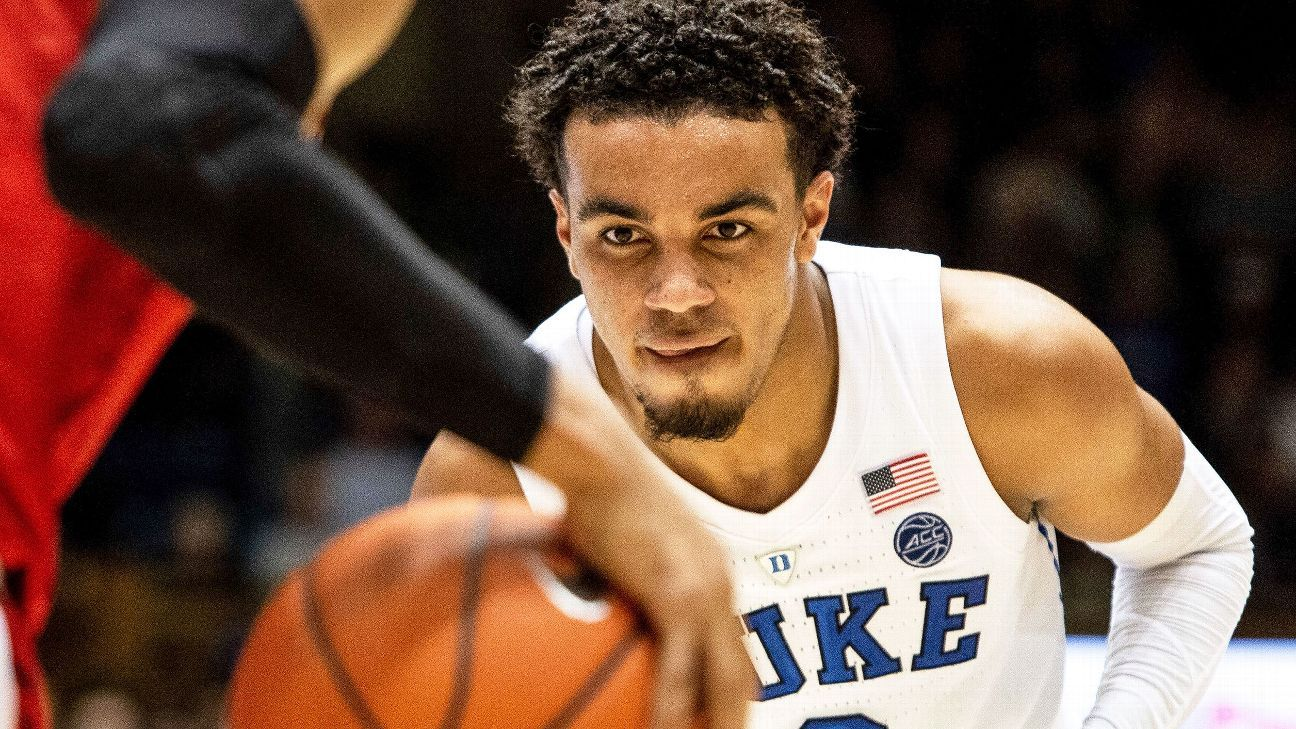 6af895beb Tre Jones is in on the Duke basketball secret