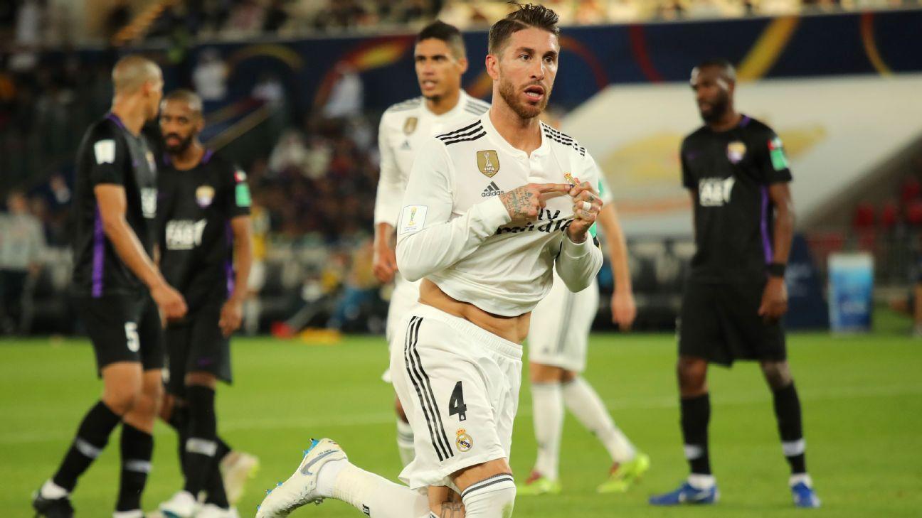 Longtime Real Madrid captain Ramos leaving club