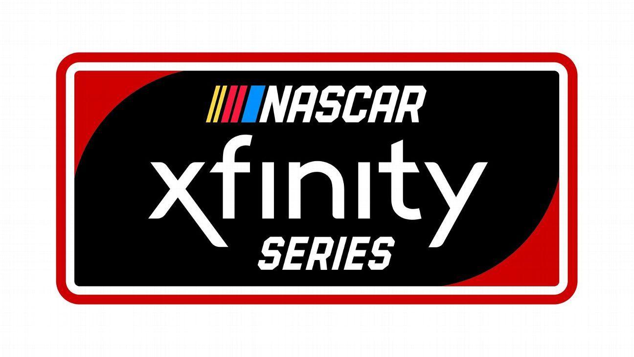 2019 Nascar Xfinity Series Team Driver Chart