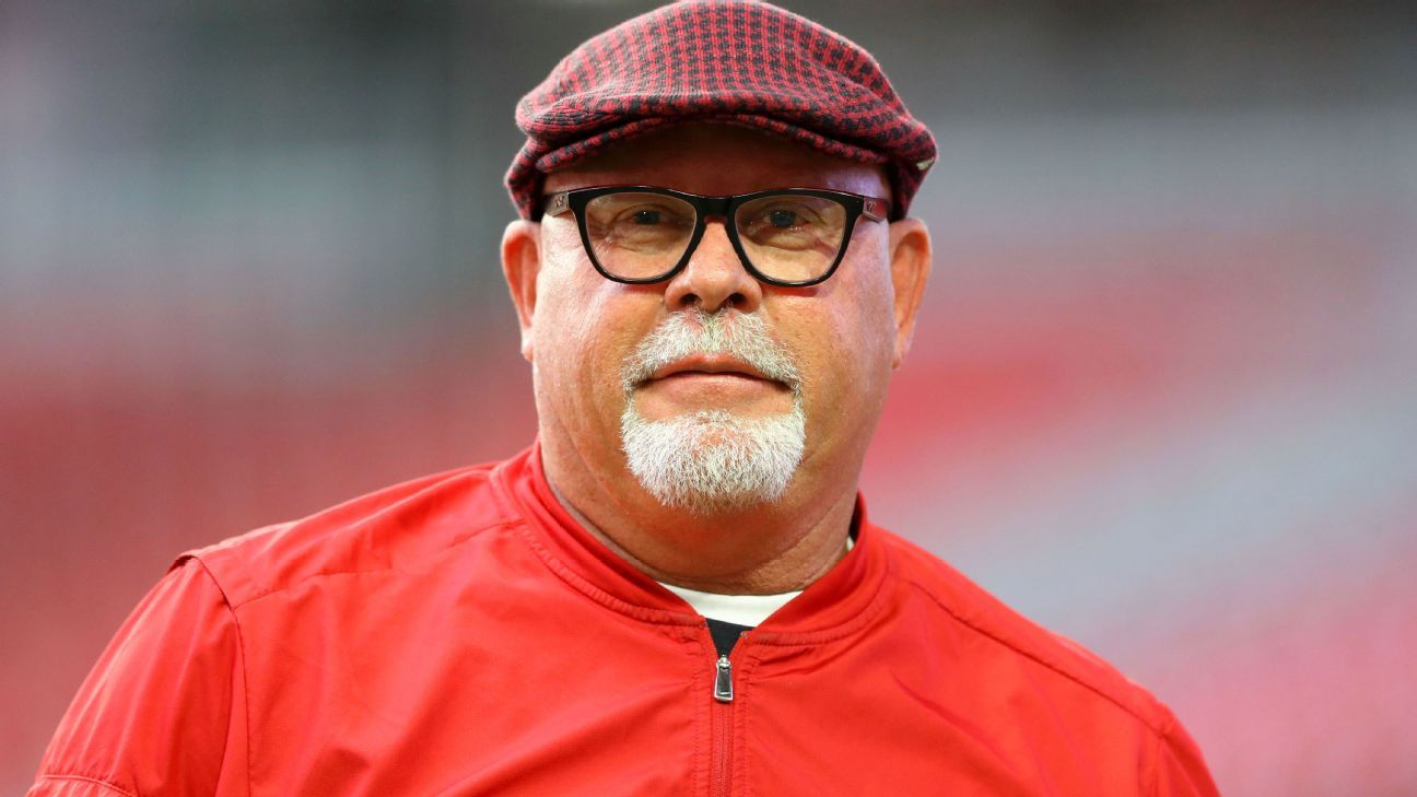 Bruce Arians is ending his retirement to become the next head coach of the Buccaneers. He will be joined in Tampa by Todd Bowles, his former Cardinals defensive coordinator, sources told ESPN's Dianna Russini.