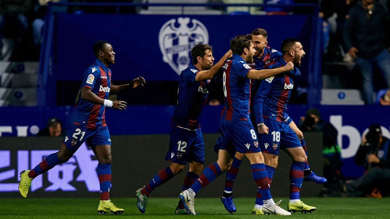 Levante Vs Barcelona Football Match Report January 10