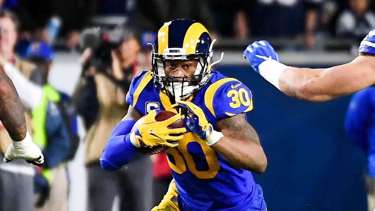 Rams  Todd Gurley  100 percent  for Super Bowl 84b8a9876