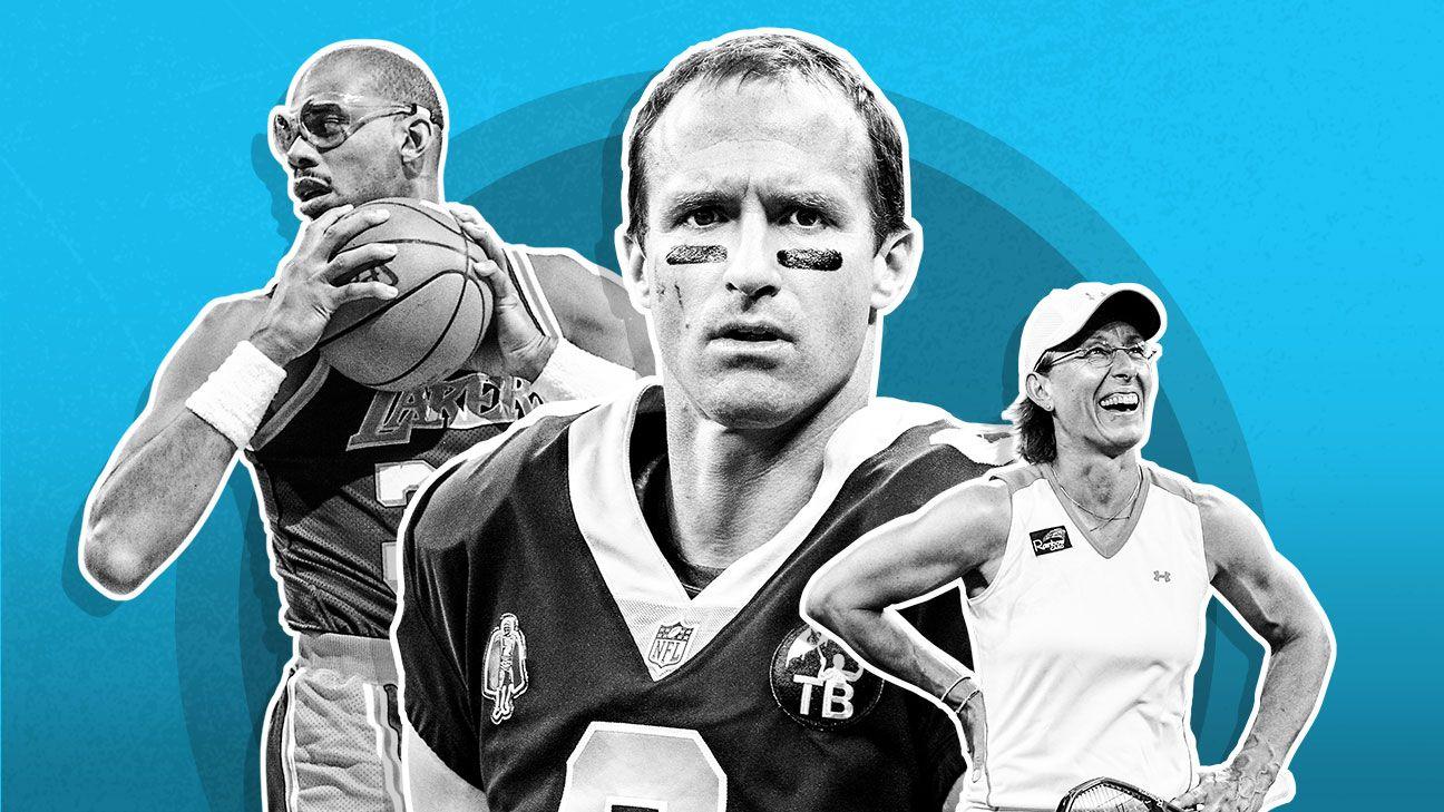 9e2e2893405 New Orleans Saints quarterback Drew Brees latest athlete to excel after age  40