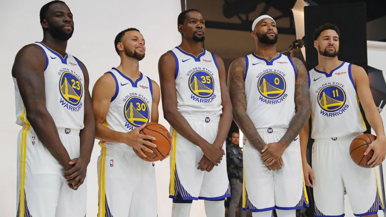 Fantasy basketball - Fantasy hoops updated roto rankings - Warriors ready  to Boogie 475fe8a89