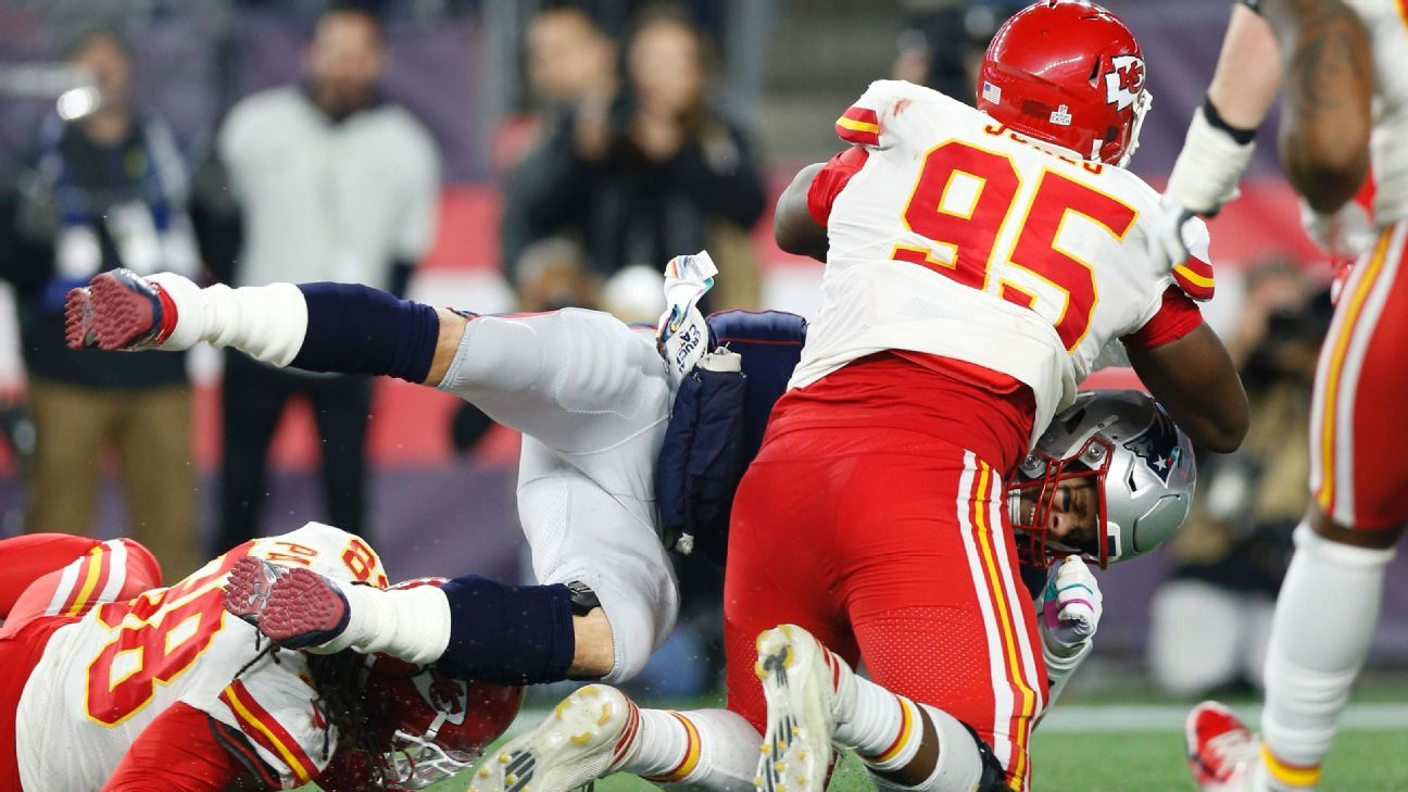 One thing the Chiefs could rely on from their defense is rushing the passer. Facing Brady and the Patriots, they'll need it more than ever.