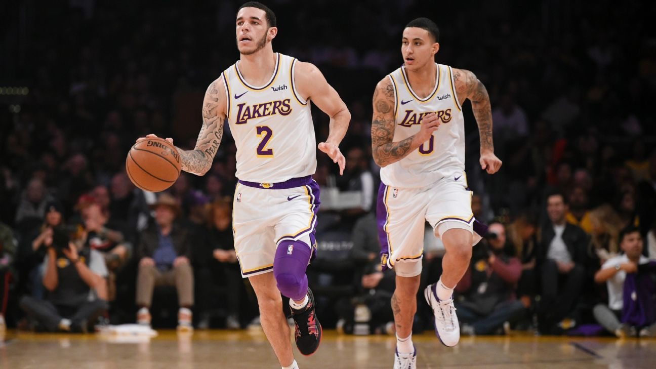 cb5bcfc4081 Lonzo Ball wants to lead Los Angeles Lakers by example first, then be vocal  as needed