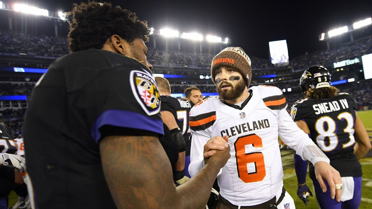 lowest price efaa5 a7dd7 Despite buzz about Browns, rivals aren't ready to concede ...
