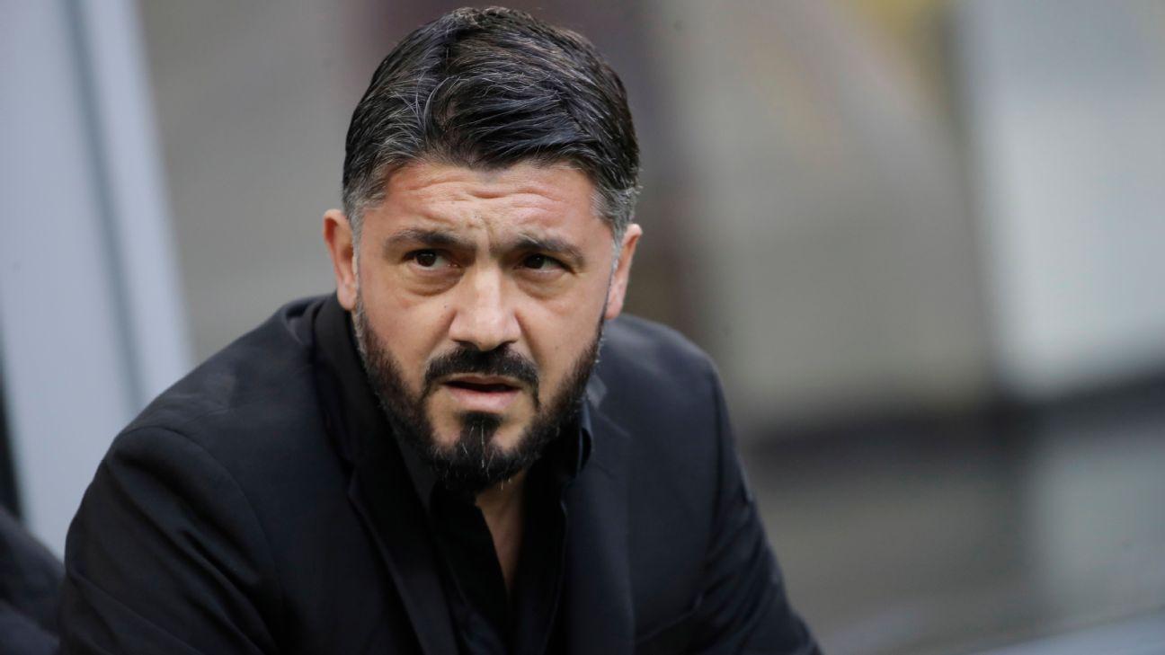 Napoli appoint Gattuso as head coach after Ancelotti sacking