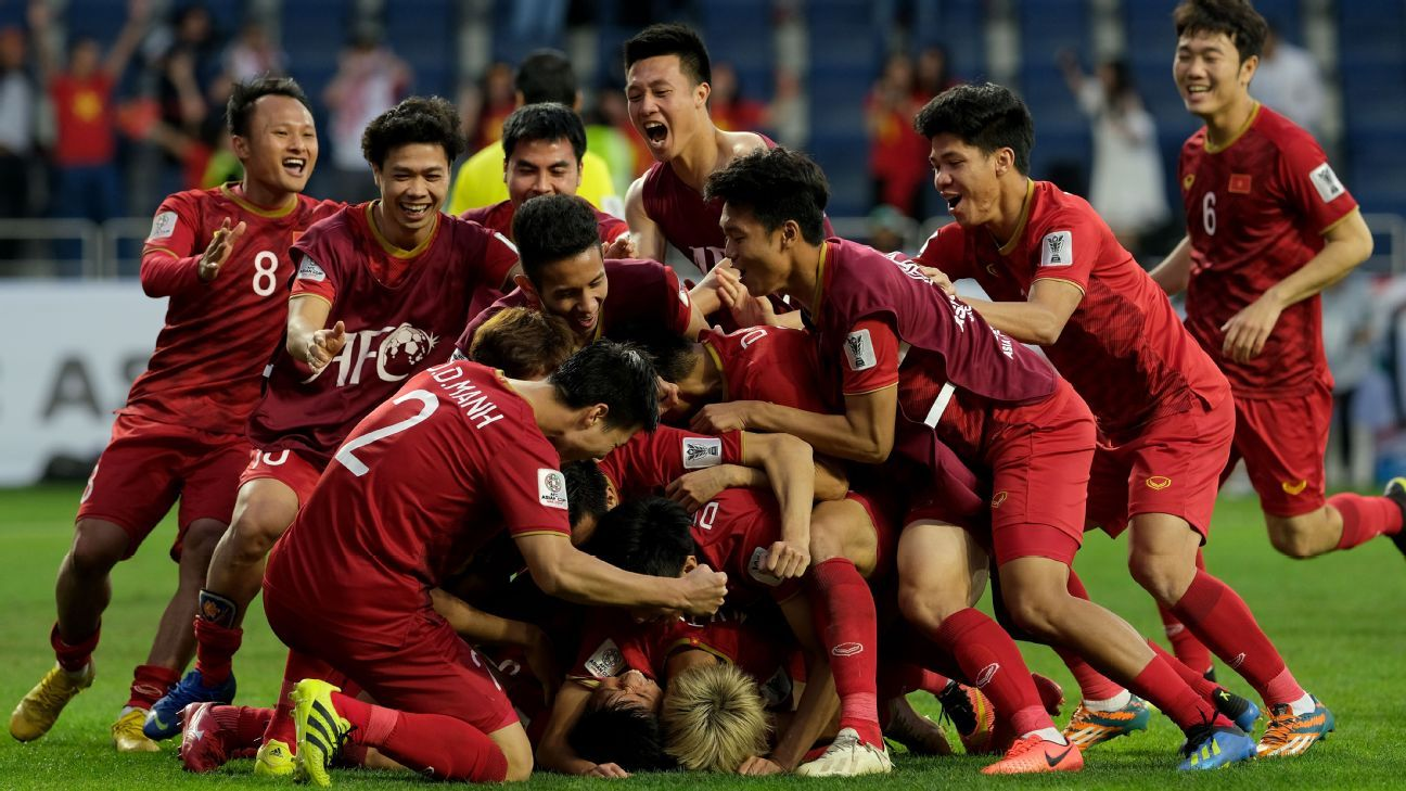 Vietnam's success at the Asian Cup is not because of any secret formula. It's a recipe thier Southeast Asian rivals can replicate.. Allsport Co./Getty Images