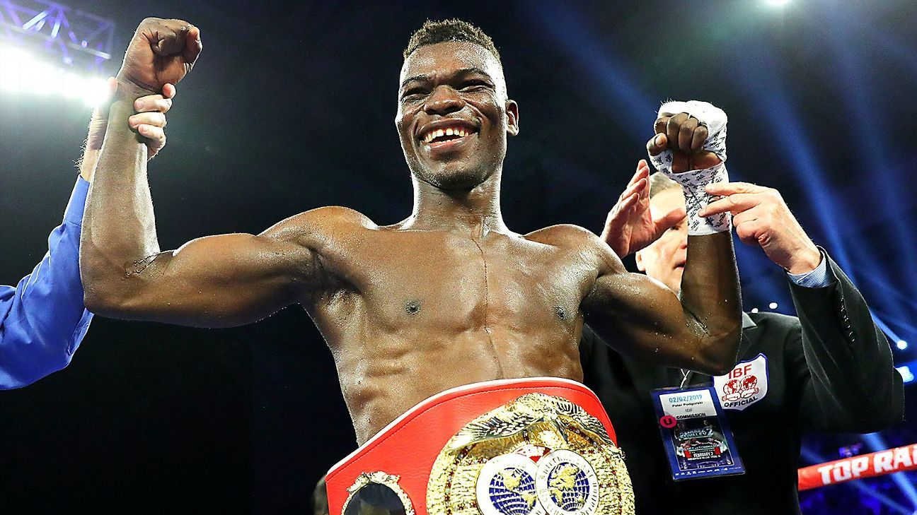 Commey's first defense against Beltran June 28