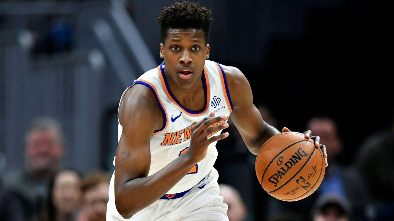 Dallas Mavericks sign free agent Frank Ntilikina, No. 8 pick in 2017 draft