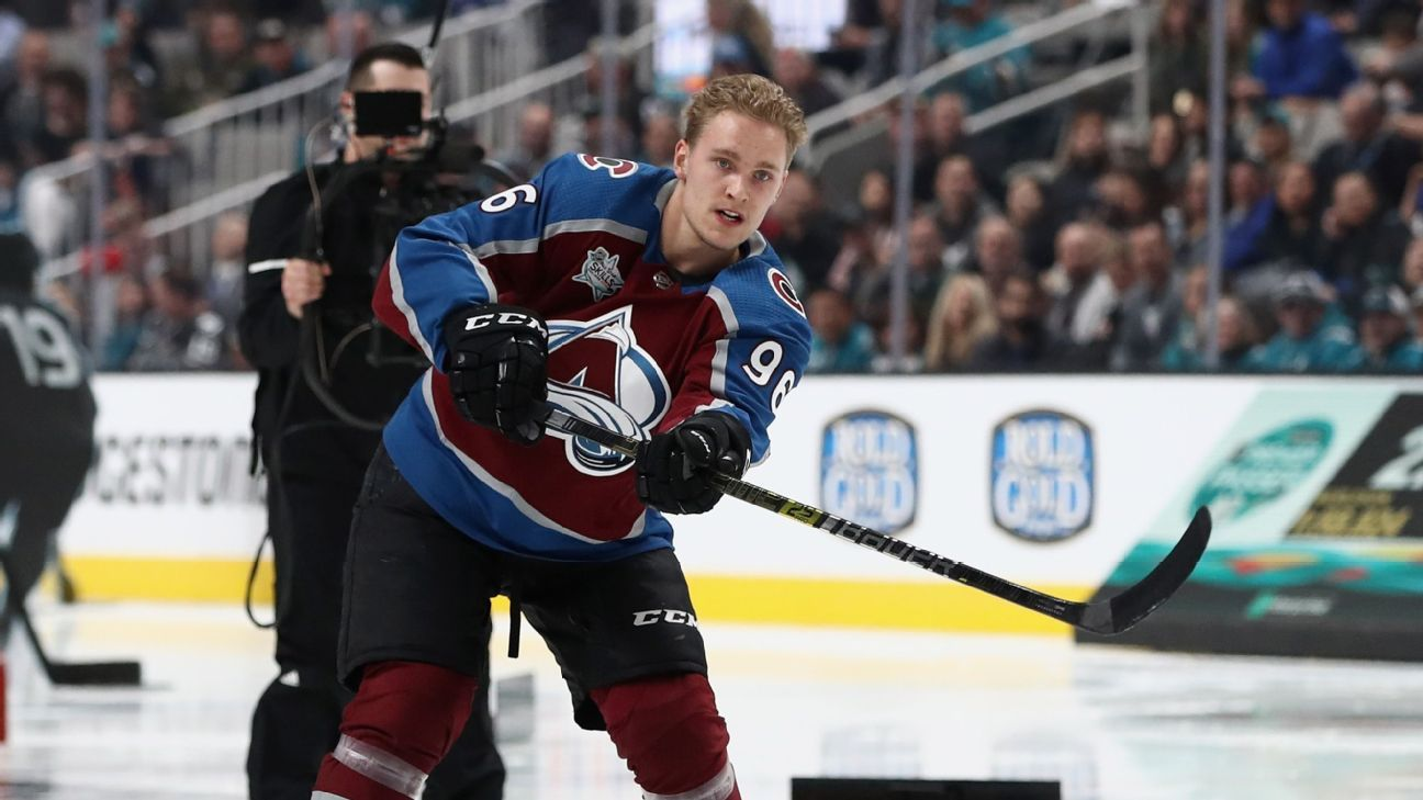 Mikko Rantanen is firing on all ... cupcakes