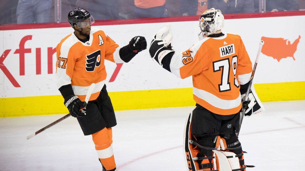 Has Carter Hart solved the Flyers' decades-long goaltending search?