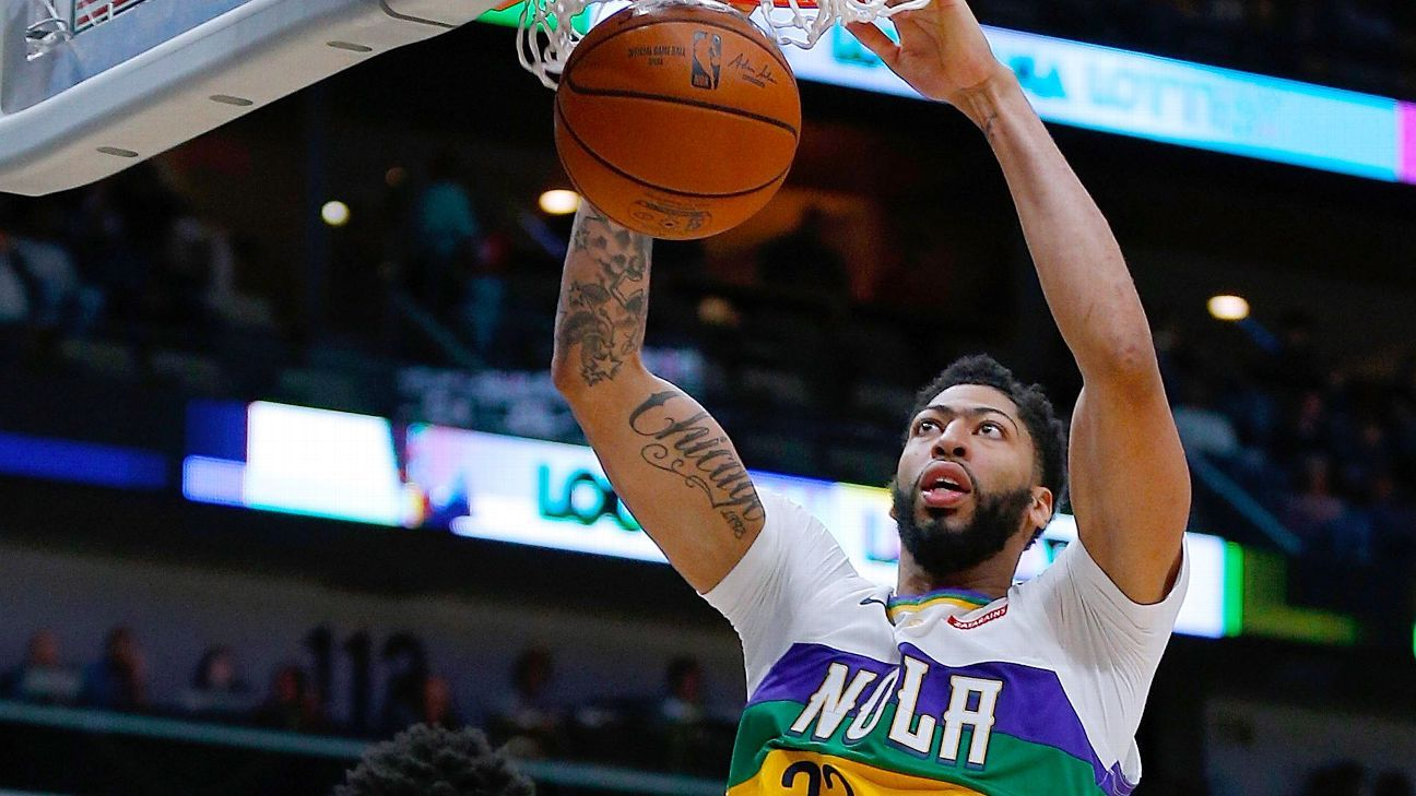 97ca78b8a Anthony Davis competed against the Memphis Grizzlies on Saturday night for  the New Orleans Pelicans and completed 34 minutes on the second night of a  ...