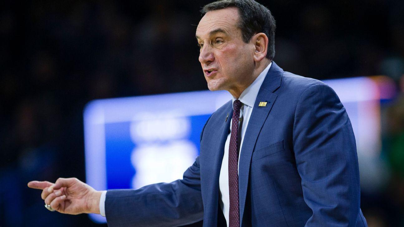 Duke Blue Devils basketball coach Mike Krzyzewski plans to retire after season sources say – ESPN