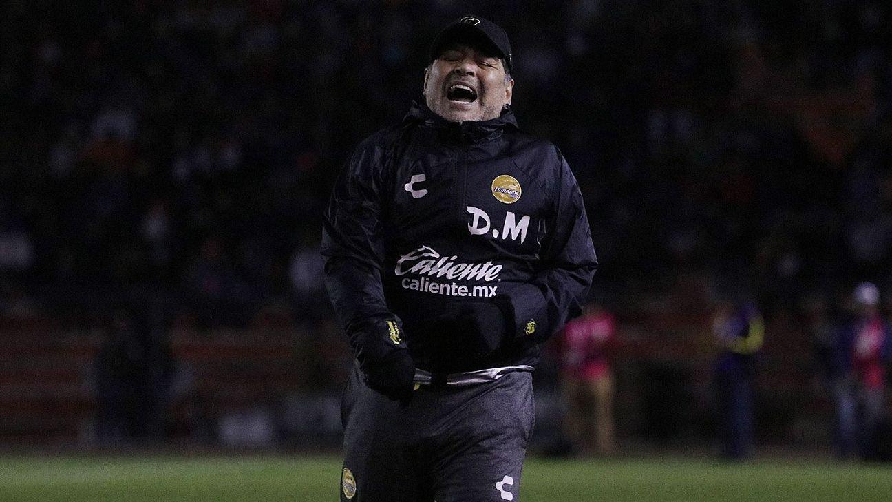 Maradona dice que Dorados es el mejor equipo en el que ha estado cc519905ccc4c