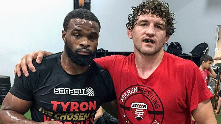 Tyron Woodley和Ben Askren之间的联系如何改变密苏里摔跤