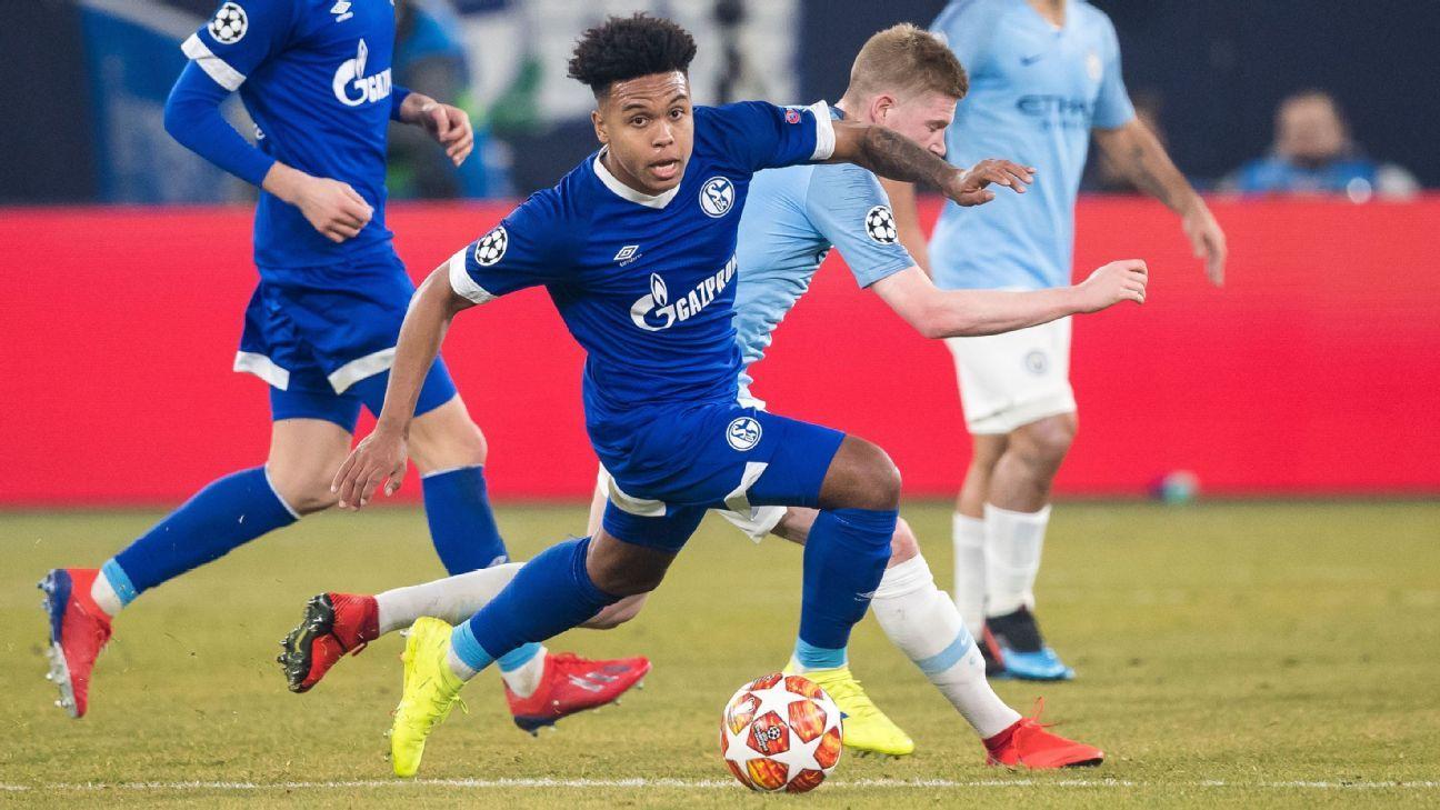 cc4a1e051 Weston McKennie exclusive  U.S. star motivated by Schalke coach ...