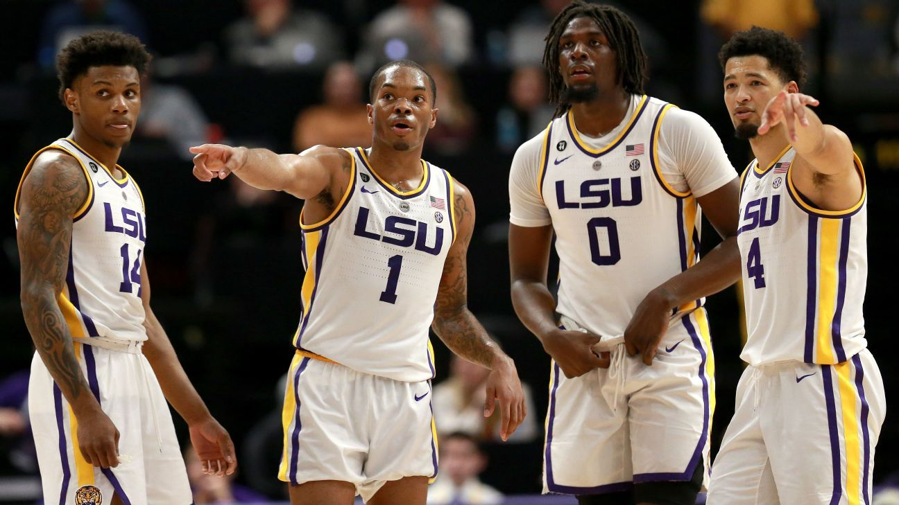 LSU focused on NCAA tourney amid distractions