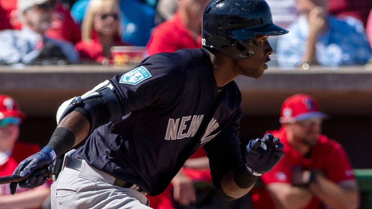 75f910217 Is Estevan Florial 'a young Bernie Williams' or a future bust?