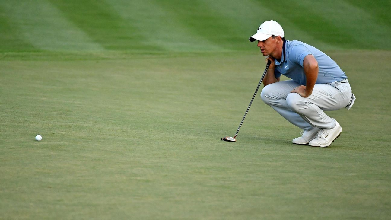 McIlroy, Fleetwood share lead at the Players