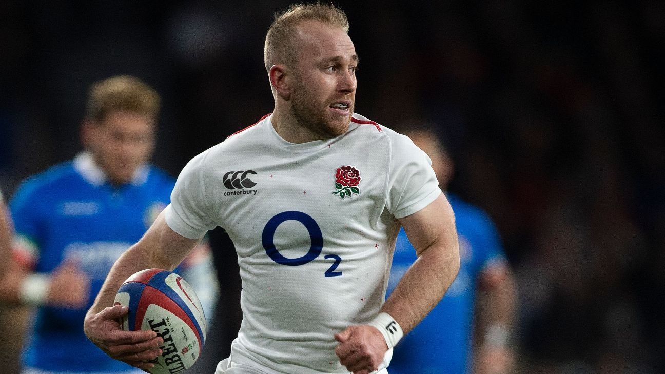 England scrum-half Dan Robson suffers blood clots