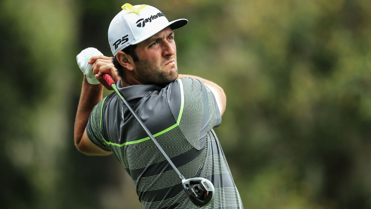 Rahm storms into lead at Players Championship