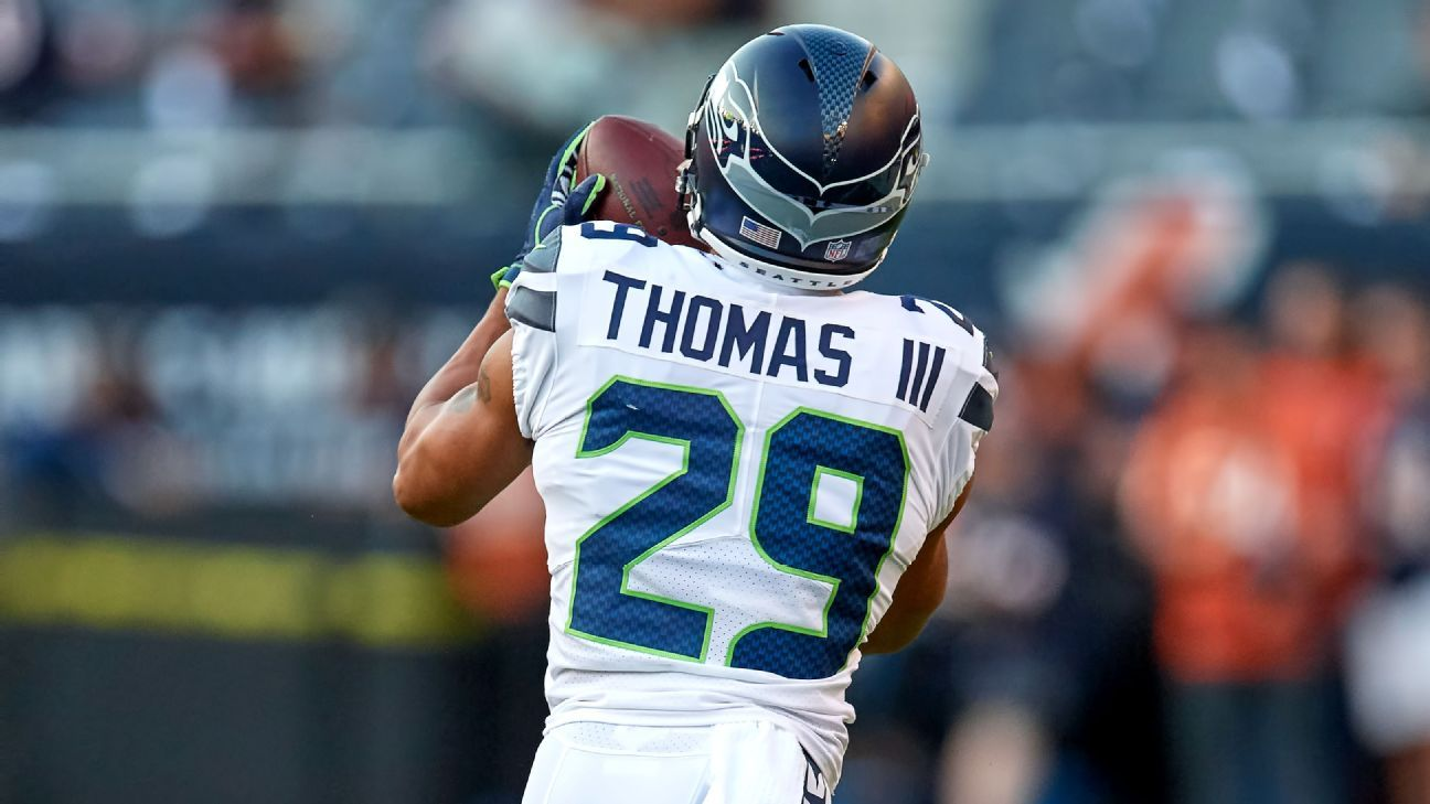Earl Thomas is an All-Pro safety and a feared ball hawk. He also apparently is a creative negotiator, as one of his new teammates quickly found out.