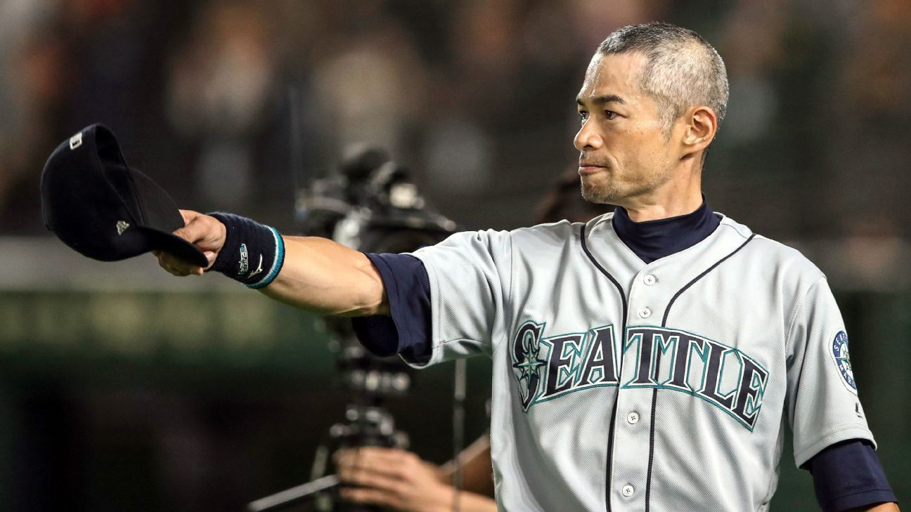 Mariners to present Ichiro franchise's top award