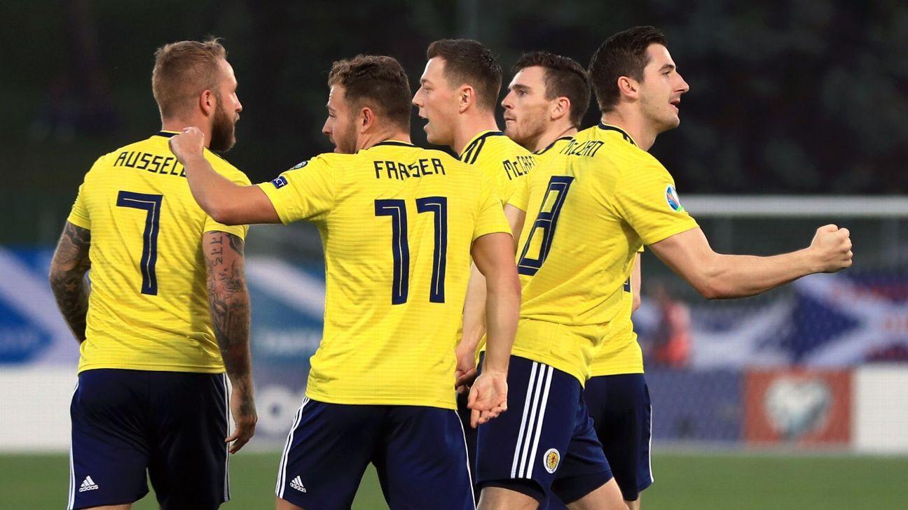 Scotland limp to lacklustre win Euro qualifying win over minnows San Marino