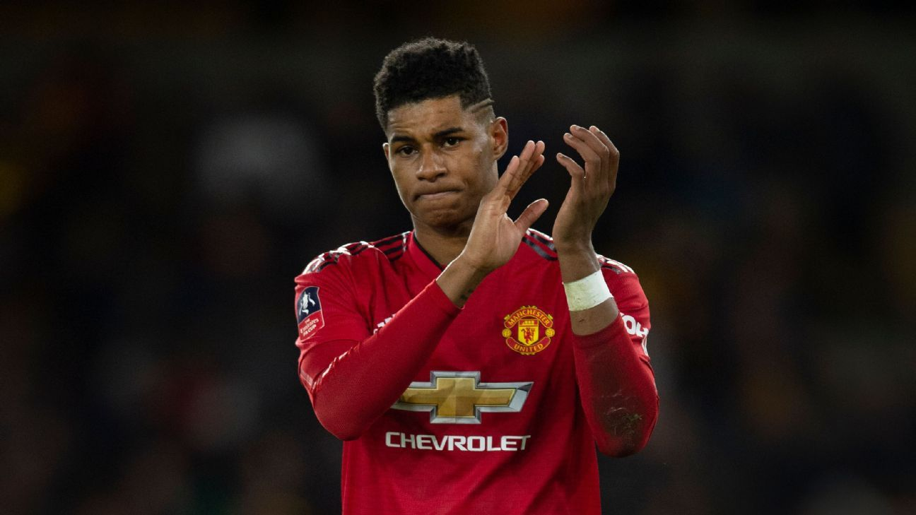 Barcelona interest in Manchester United's Rashford like 'wanting to date Cindy Crawford' - sources