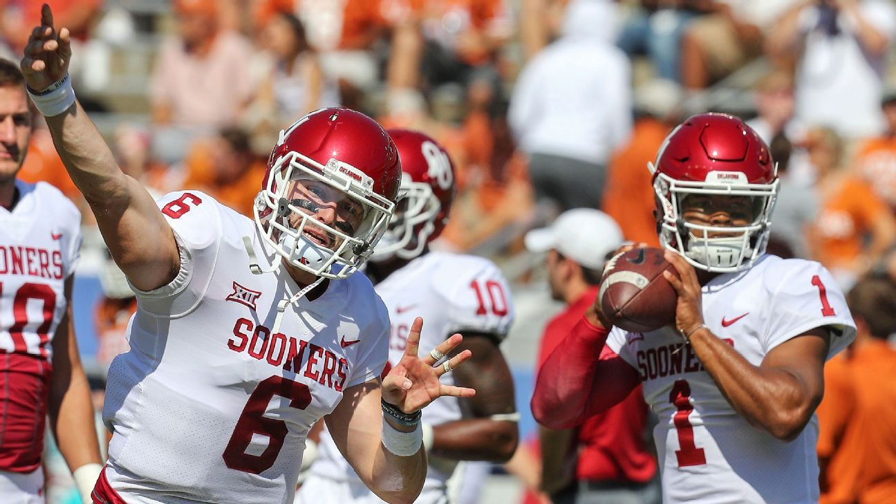 How Baker Mayfield and Kyler Murray pushed each other to greatness as Oklahoma teammates