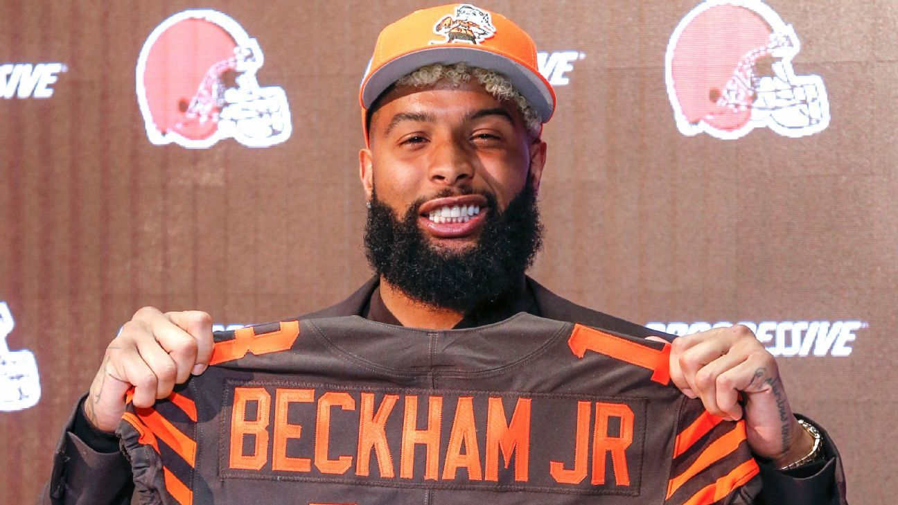 Odell Beckham Jr. clarified his comments earlier this week that he wanted to turn the Browns into the new Patriots, saying
