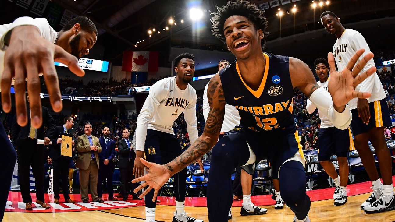32b390f59 Murray State s Morant signs deal with Nike