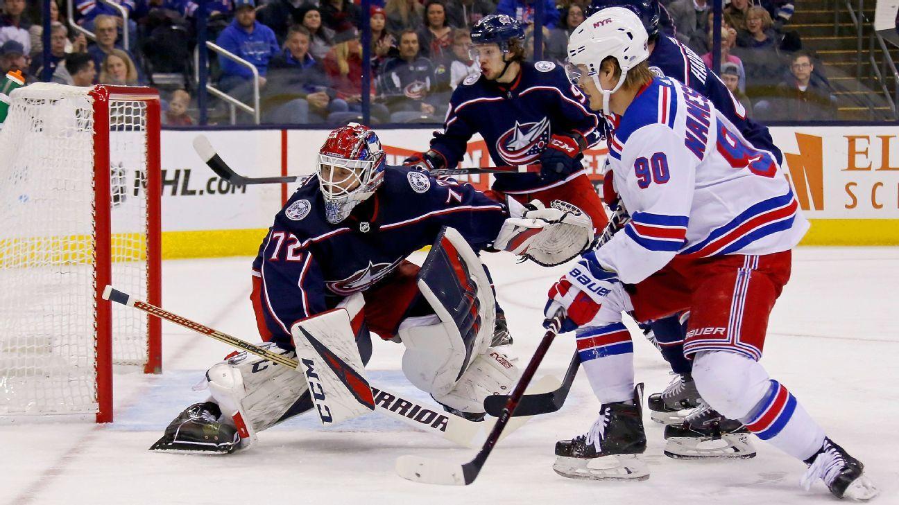 Rangers deal forward Vladislav Namestnikov to Senators