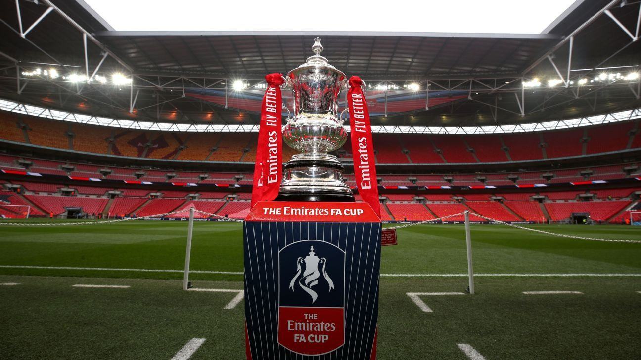 FA Cup draw: Spurs vs. 8th-tier Marine in 3rd rd.