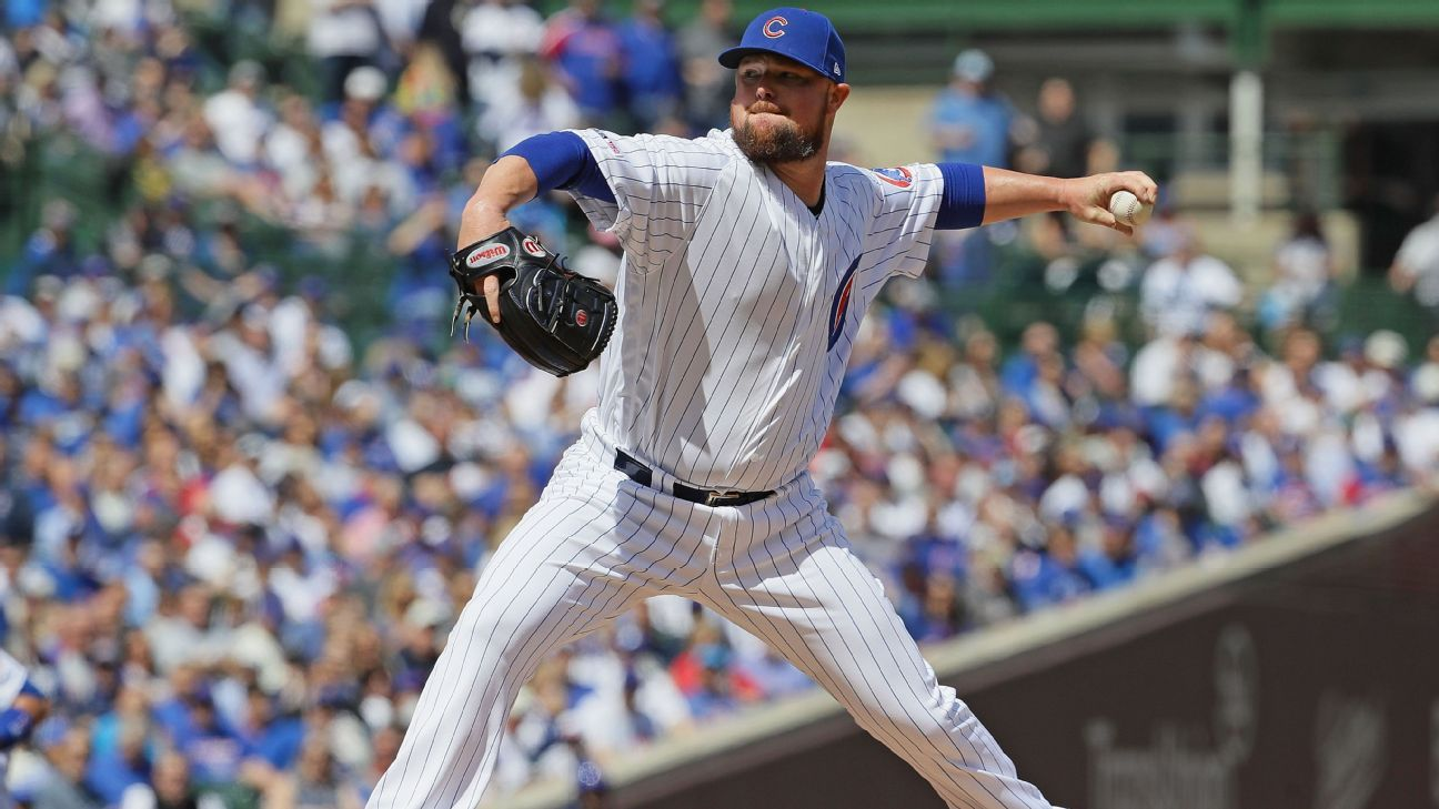 Cubs' Lester (hammy) may return for next series