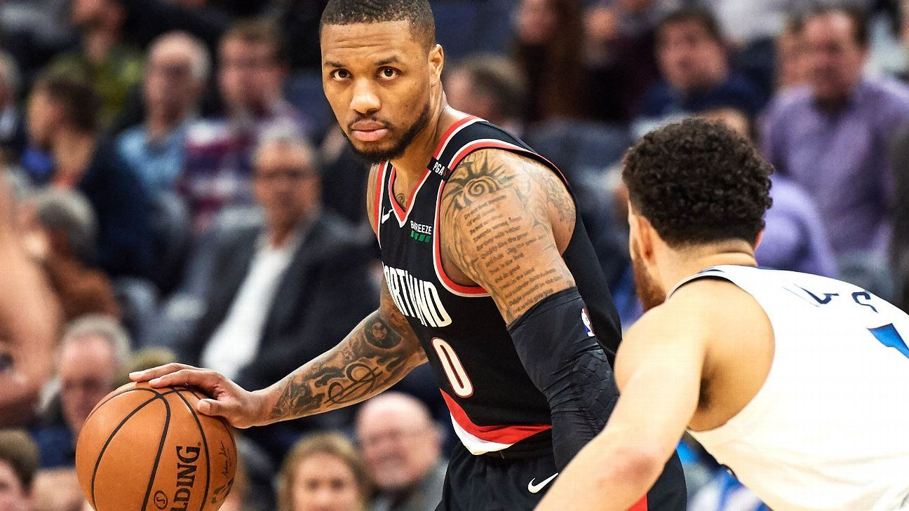 899e92be2 Damian Lillard s moment is coming -- it s just a matter of time