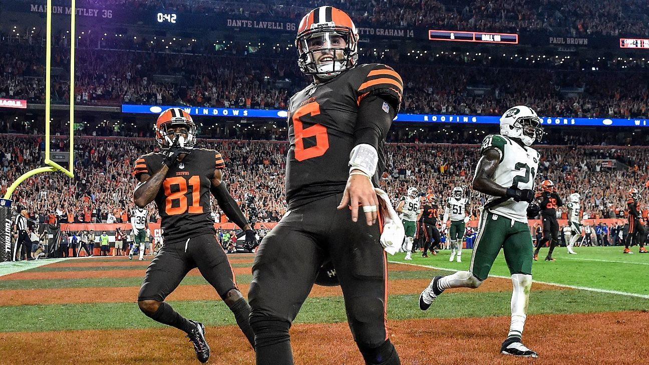 Baker Mayfield gets four prime-time games. The Patriots have an easy schedule -- again. Here's what you need to know from the schedule.
