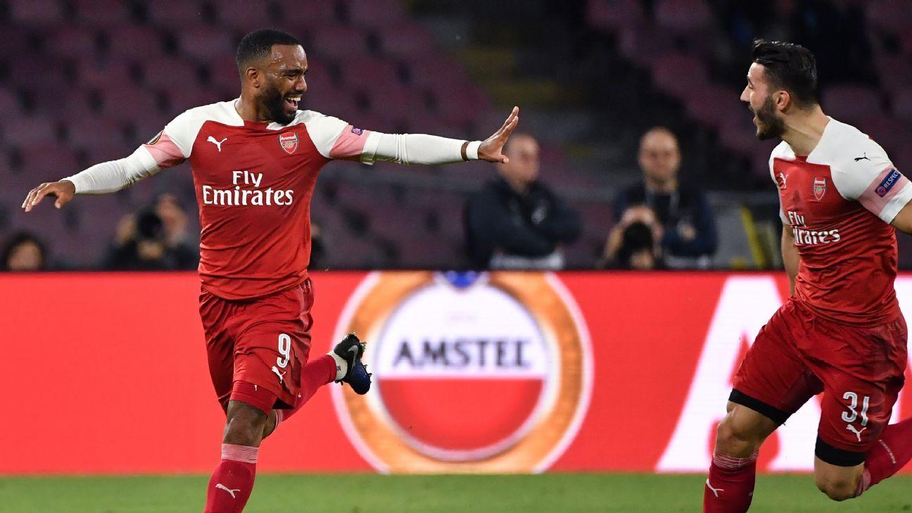 e16848e63a14 Napoli vs. Arsenal - Football Match Report - April 18
