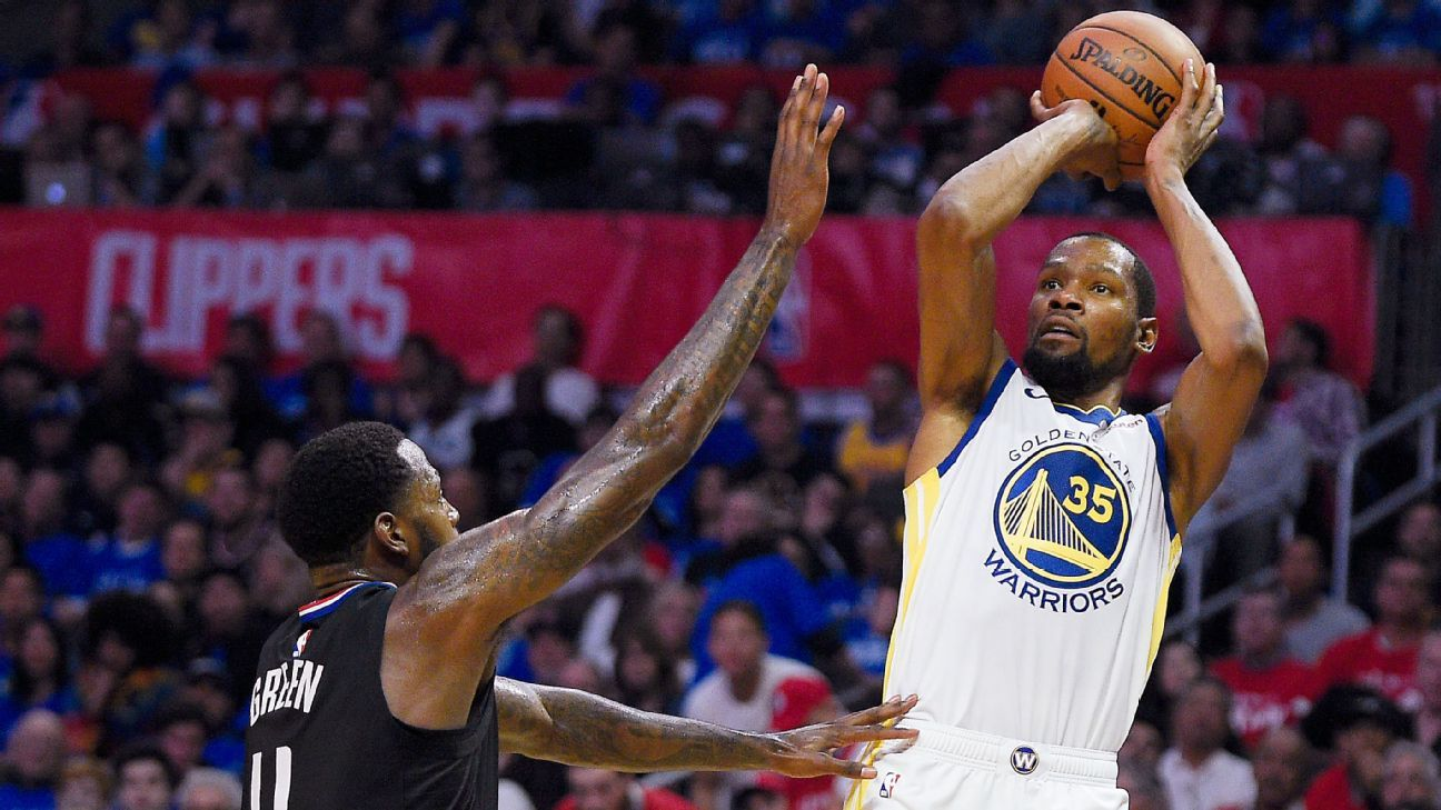 1287170d86f KD takes over with 38 points in Game 3 blowout