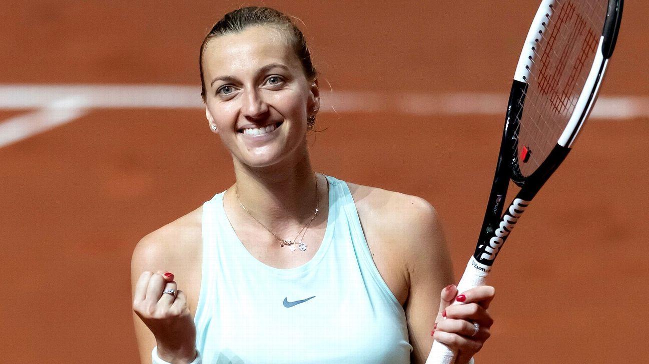 Defending champ Kvitova into 3rd round in Madrid