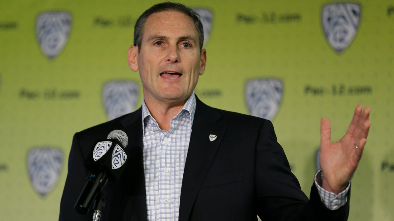 Pac-12's Larry Scott expresses concern with Fair Pay to Play Act
