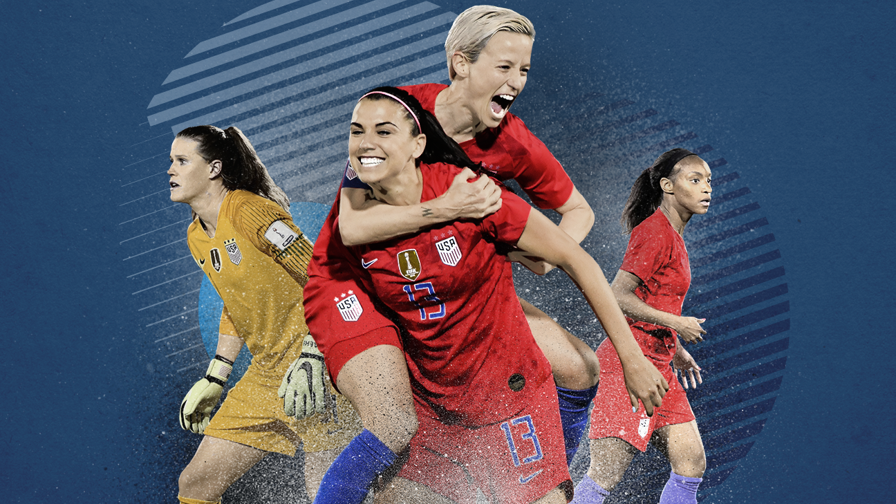 f9ead5ab6 Women s World Cup 2019 - Meet the 23 members of the USWNT Women s World Cup  roster