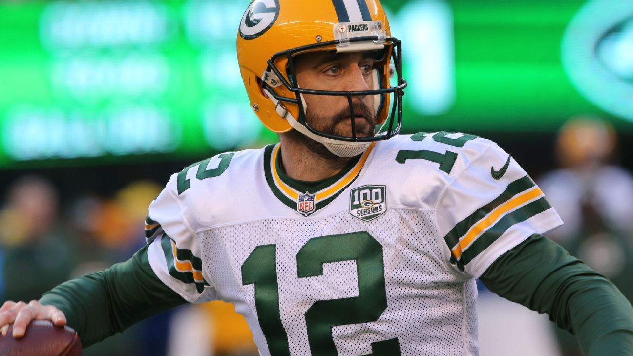 Packers quarterback Aaron Rodgers has long been a fan of the hit show