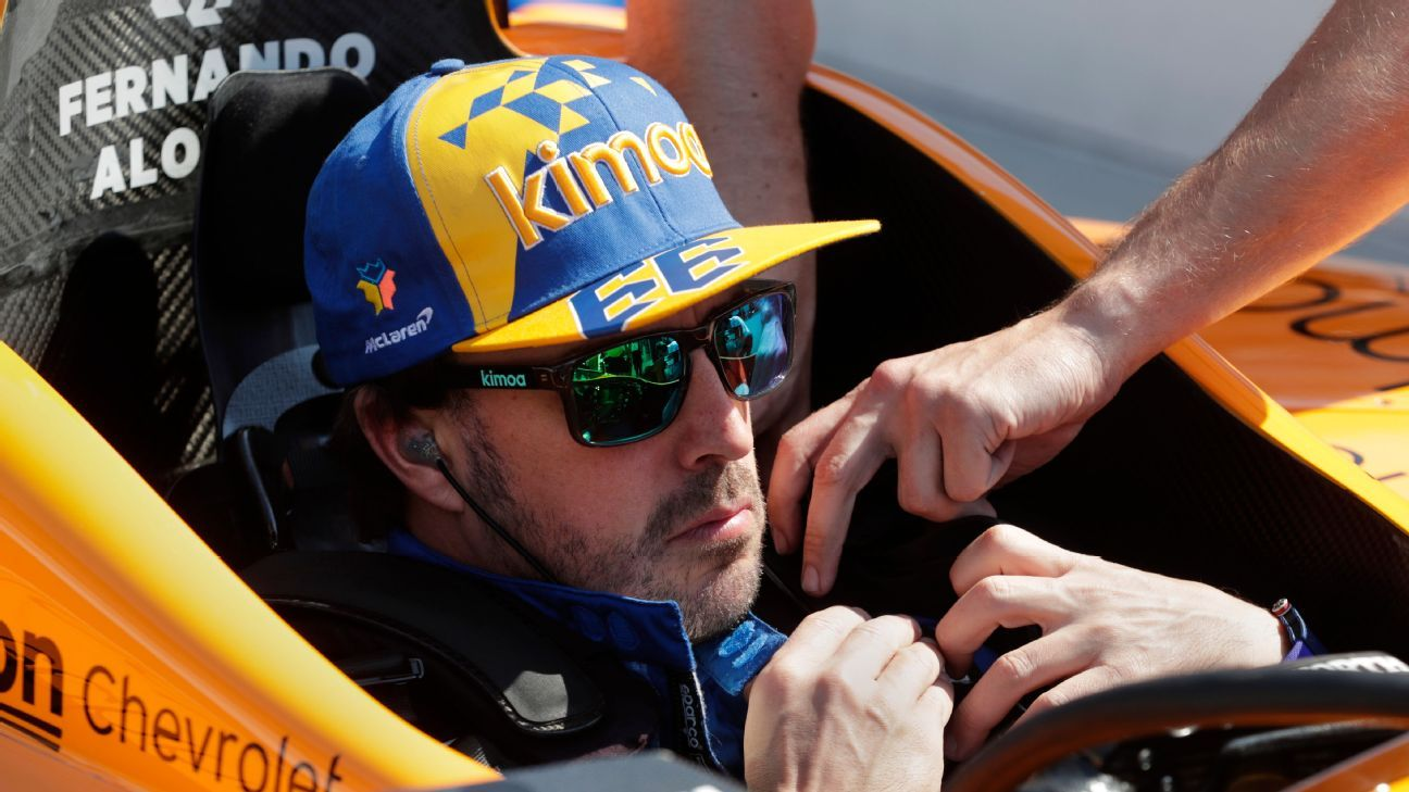 Fernando Alonso fails to qualify for 2019 Indy 500
