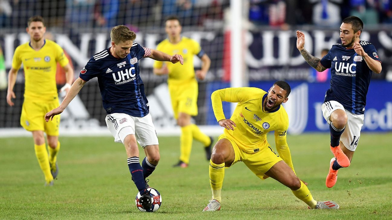 New England Revolution vs. Chelsea - Football Match Report - May 15, 2019 -  ESPN
