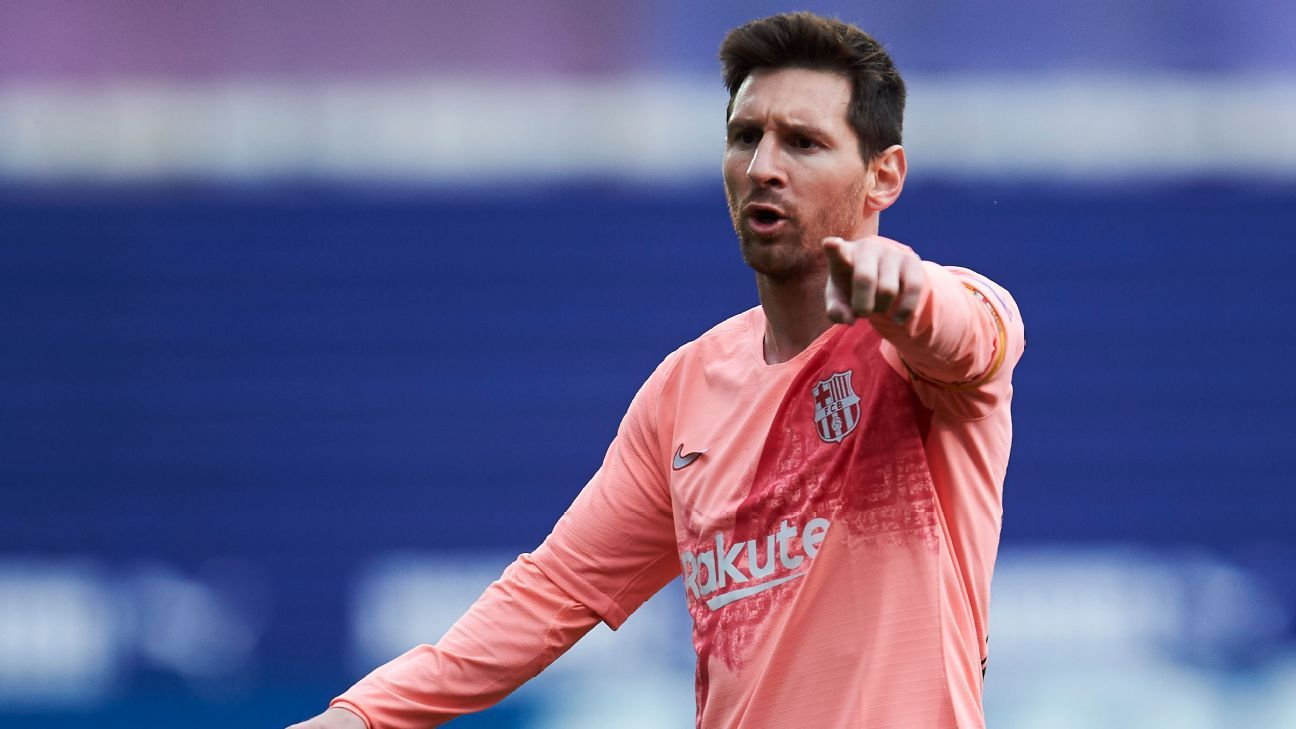 Barcelona's Messi an 8/10 with brace to reach 50 goals once again