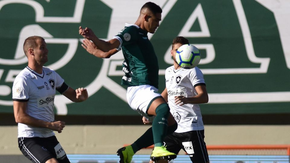9bca3fcb7 Botafogo é derrotado pelo Goiás e perde série de vitórias no Brasileirão