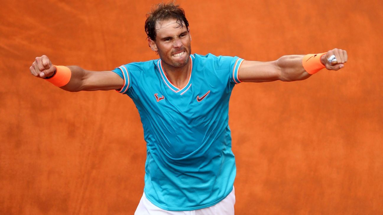 Nadal's draw at French Open includes qualifier